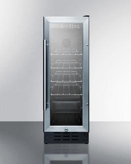 SCR1225B Refrigerator Front