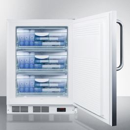 ALF620SSTB Freezer Full