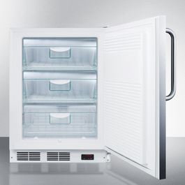 ALF620SSTB Freezer Open