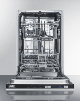 DW18SS2 Dishwasher Open