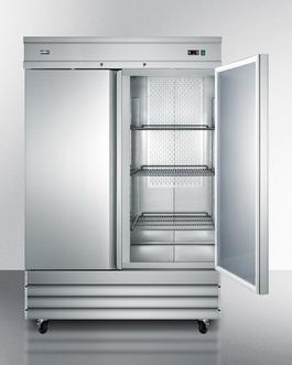 SCFF496 Freezer Open