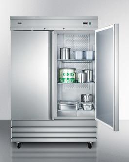 SCFF496 Freezer Full