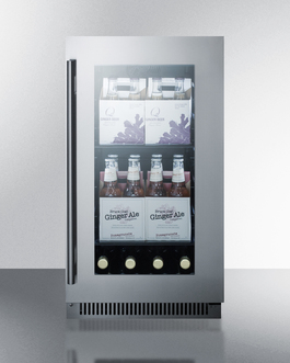 CL181WBVCSS Refrigerator Full