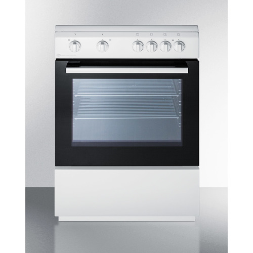 CLRE24WH Electric Range Front