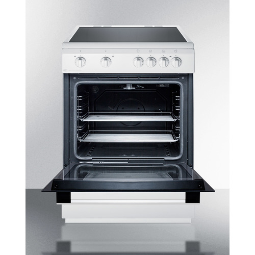 CLRE24WH Electric Range Open