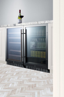 SCR2466PUBCSS Refrigerator Set