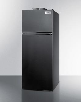 BKRF1119B Refrigerator Freezer Angle