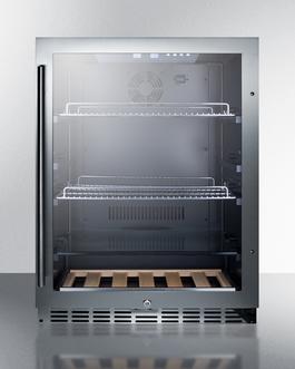 SCR2466PUB Refrigerator Front