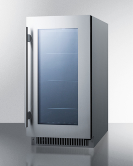 CL181WBVCSS Refrigerator Angle