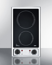 CR2B120 Electric Cooktop Front