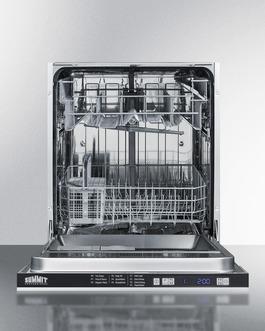 DW2433SS2 Dishwasher Open