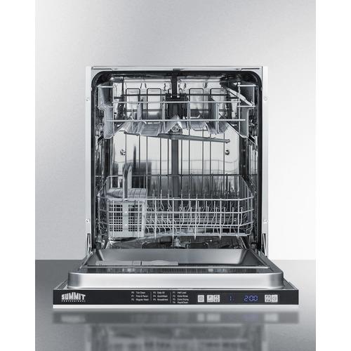 DW2433SS2ADA Dishwasher Open