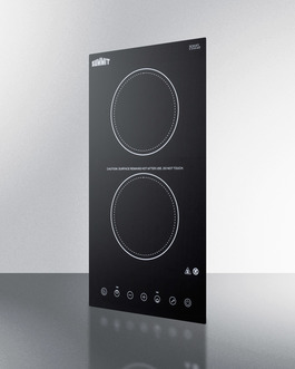 CR2B15T1B Electric Cooktop Angle