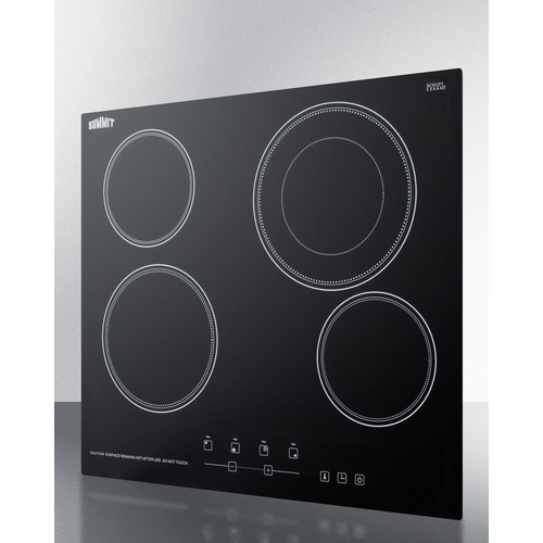 CR4B23T5B Electric Cooktop Angle