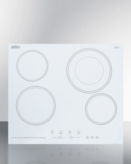CR4B23T6W Electric Cooktop Front