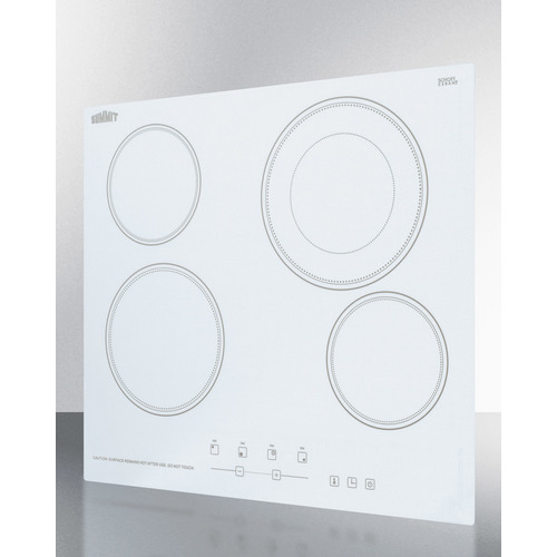 CR4B23T6W Electric Cooktop Angle