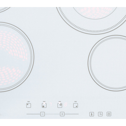 CR4B23T6W Electric Cooktop Detail