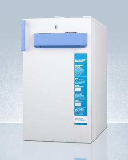 FS407LBI7MED2ADA Freezer Angle