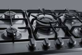GC527SS Gas Cooktop Detail