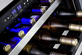 SWC530BLBISTADA Wine Cellar Detail