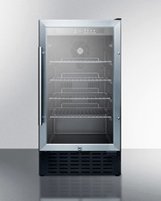 SCR1841B Refrigerator Front