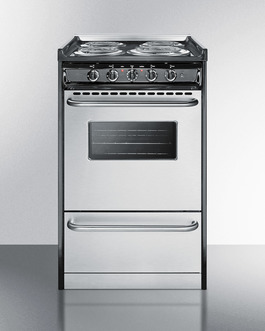 TEM110BRWY Electric Range Front