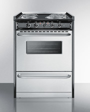 TEM610BRWY Electric Range Front