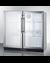SCR7012DBCSS Refrigerator Angle