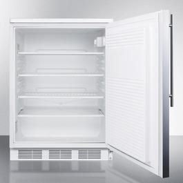 FF7LSSHV Refrigerator Open