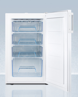 FS407LBI7PLUS2ADA Freezer Open