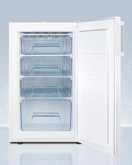 FS407LPLUS2ADA Freezer Open