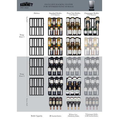 SWC182ZADA Wine Cellar Matrix