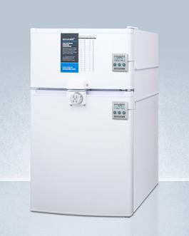 CP351WLLF2PLUS2ADA Refrigerator Freezer Angle