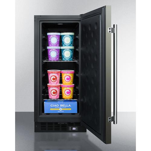 SCFF1533BKS Freezer Full
