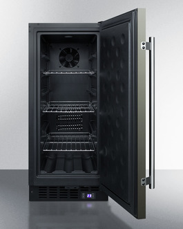 SCFF1533BKS Freezer Open