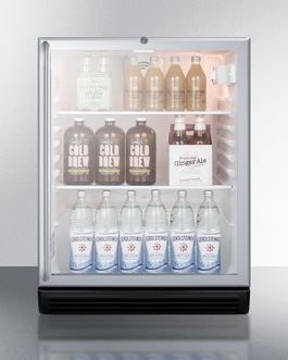 SCR600BGLSHADA Refrigerator Full