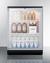 SCR600BGLSH Refrigerator Full