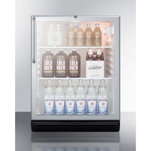 SCR600BGLCSSADA Refrigerator Full