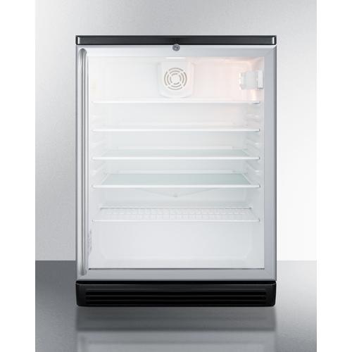 SCR600BGLBISH Refrigerator Front