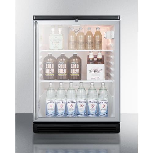 SCR600BGLBISH Refrigerator Full