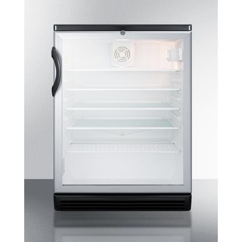 SCR600BGLBI Refrigerator Front