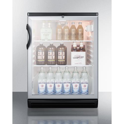 SCR600BGLBI Refrigerator Full