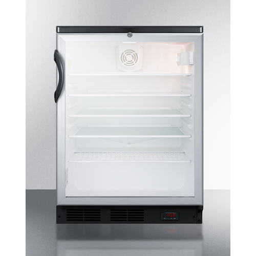 SCR600BGLBIDTPUB Refrigerator Front