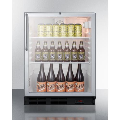 SCR600BGLDTPUBCSS Refrigerator Full