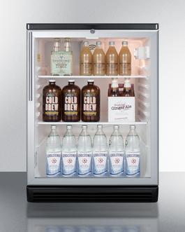SCR600BGLHV Refrigerator Full