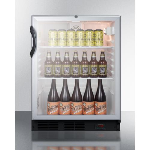 SCR600BGLBIDTPUBADA Refrigerator Full