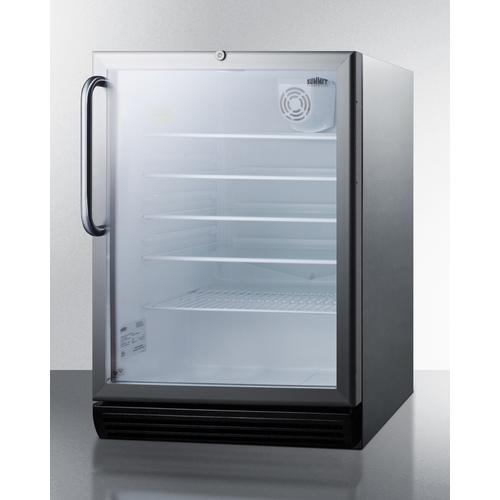 SCR600BGLCSSADA Refrigerator Angle