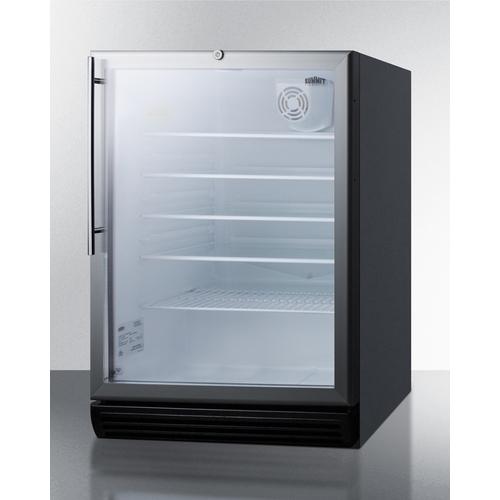 SCR600BGLHVADA Refrigerator Angle