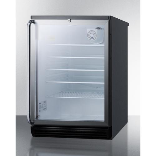 SCR600BGLBISH Refrigerator Angle