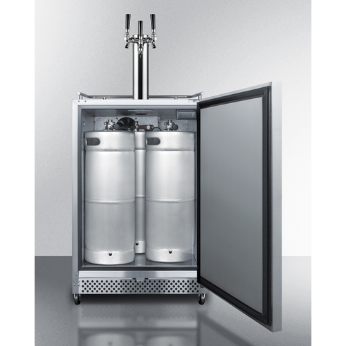 SBC695OSTRIPLE Kegerator Full